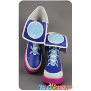 Hyperdimension Neptunia Cosplay Neptune Purple Heart Short Boots