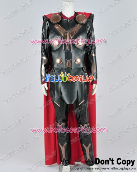Thor 2: The Dark World Thor Odinson Cosplay Costume Full Set