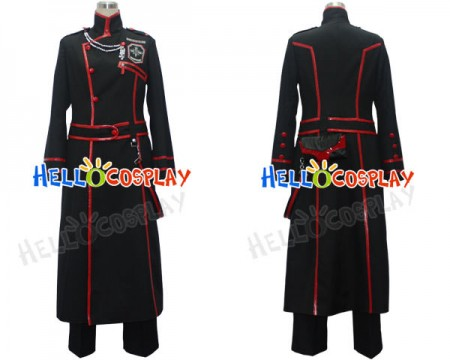D. Gray-Man Yu Kanda Cosplay Costume Halloween New