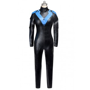 Batman Arkham City Nightwing Cosplay Costume Female