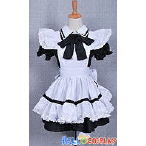 Girl Black Maid Dress