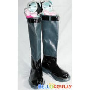 Vocaloid 2 Hatsune Miku Cosplay Boots Punk Style