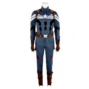 Captain America 2 The Winter Soldier Steve Rogers Cosplay Costume