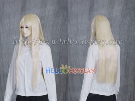 Light Yellow Medium Cosplay Wig