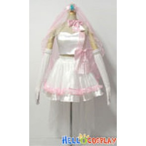 Macross Frontier Cosplay Ranka Lee Wedding Dress
