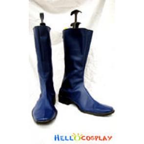 Gundam Cosplay Blue Boots