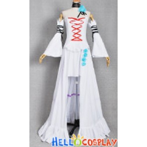 Pandora Hearts Cosplay Costume White Rabbit Dress