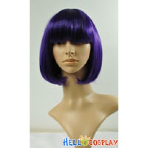 Dark Purple BoBo Cosplay Curly Wig