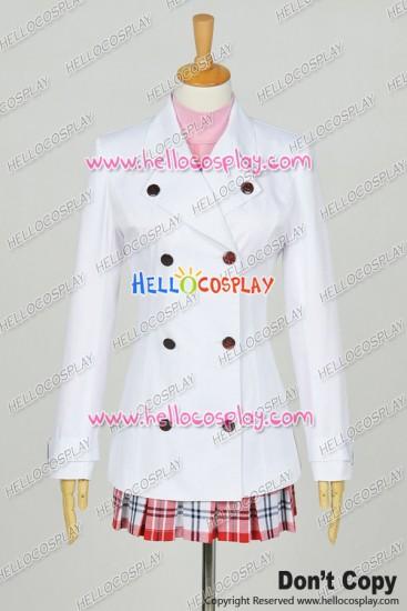 Sword Art Online Ⅱ Gun Gale Online GGO Cosplay Asuna Yuuki Costume