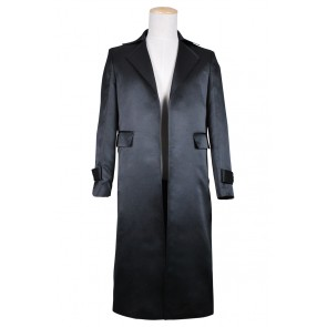 Smallville Clark Kent Cosplay Black Trench Coat Costume