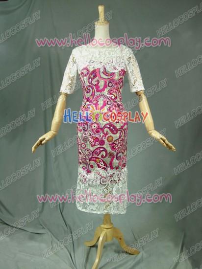 Victorian Lolita Renaissance Multicolor Floral Lace Gothic Lolita Dress