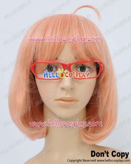 Beyond The Boundary Cosplay Mirai Kuriyama Wig With Glasses