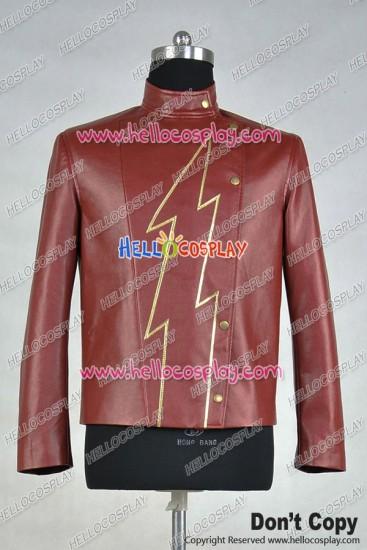 The Flash Season 2 Jay Garrick Jacket Cosplay Costume