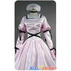 Future Diary Cosplay Uryuu Minene Costume Dress