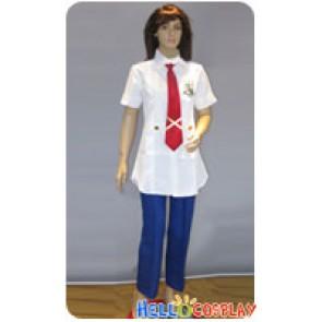 Macross Frontier Cosplay Mihoshi Gakuen Summer Uniform Costume