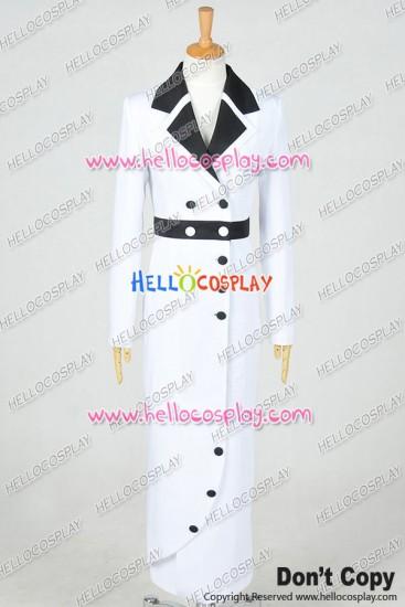 Titanic Rose DeWitt Bukater Cosplay Costume White Maiden Dress Coat