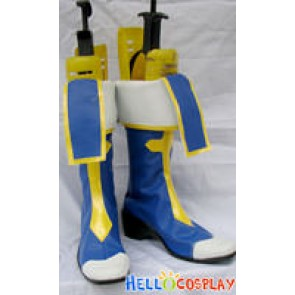 Blazblue Cosplay Noel Vermillion Blue Boots