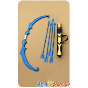 League Of Legends LOL Cosplay Ice Shooter Ashe Bow Arrow Weapon New Version