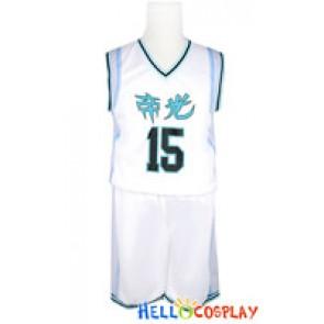 Kuroko Basketball Cosplay Teiko School Basketball Uniform