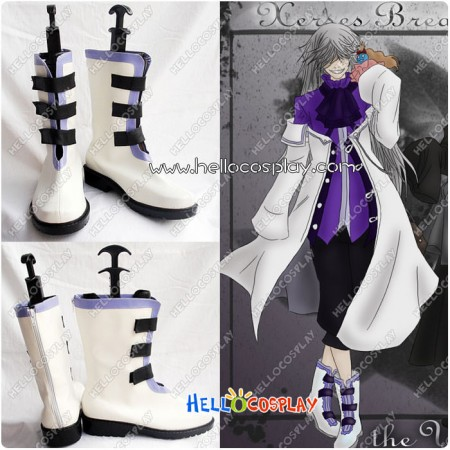 Pandora Hearts Xarxes Break Cosplay Boots New