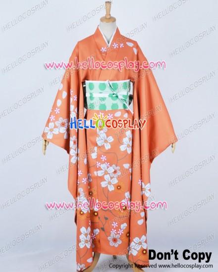 Super Danganronpa Dangan Ronpa 2 Cosplay Hiyoko Saionji Kimono Costume