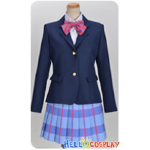 Love Live School Idol Project Cosplay Umi Sonoda Girl Uniform Costume