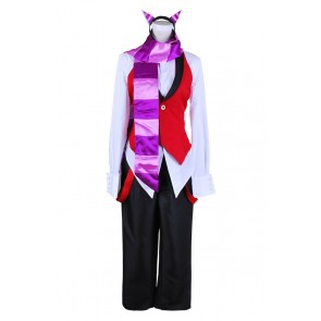 Black Butler Cosplay Grell Sutcliff Cheshire Cat Costume