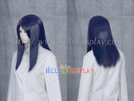 Midnight Navy 50cm Cosplay Straight Wig