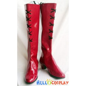 Castlevania Cosplay Lydie Erlanger Red Boots