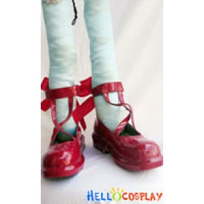 Puella Magi Madoka Magica Madoka Kaname Cosplay Shoes