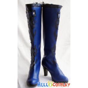 Vocaloid 2 Cosplay Cendrillon Ver Utatane Piko Boots Blue