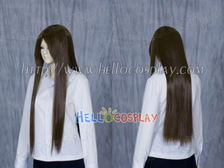 Yellow Brown Medium Cosplay Wig
