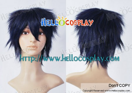 Blue Exorcist Cosplay Okumura Rin Navy Blue Wig