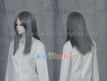 Dark Grey 50cm Cosplay Straight Wig
