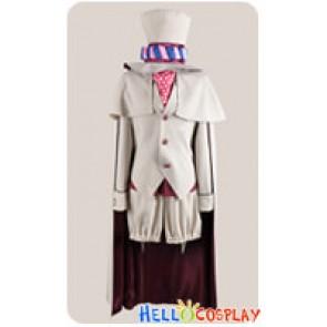 Blue Exorcist Ao No Ekusoshisuto Cosplay Mephisto Pheles White Costume