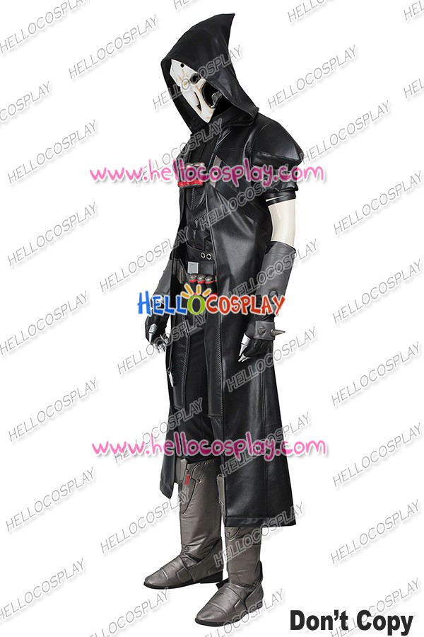 6b35b3da4 Overwatch Reaper Cosplay Costume Uniform