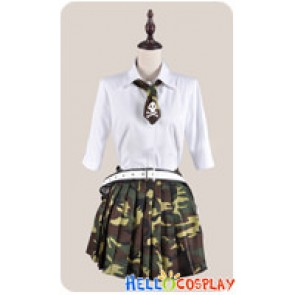 Btooom Cosplay Himiko Hemilia Uniform Costume Summer Ver