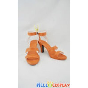 One Piece Cosplay Nami Shoes Orange