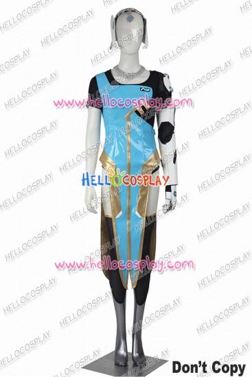 Overwatch Symmetra Cosplay Costume Uniform