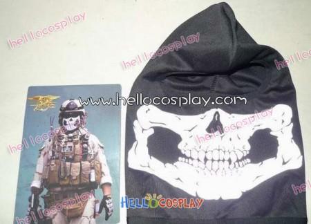 """Modern Warfare 2 Mask Simon """"Ghost"""" Riley Skull Mask"""