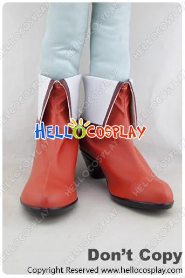 Beyond The Boundary Cosplay Mirai Kuriyama Shoes