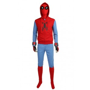 Spider-Man Homecoming Spider Man Cosplay Costume Full Set