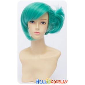 Uta No Prince-sama Cosplay Ai Mikaze Wig Gin Tama Short Oblique Ponytail Green