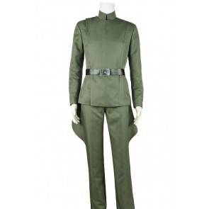 Star Wars Imperial Stormtrooper Officer Admiral Cosplay Costume Green