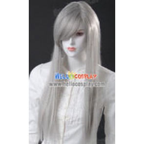 Cosplay Silver Grey Medium Wig
