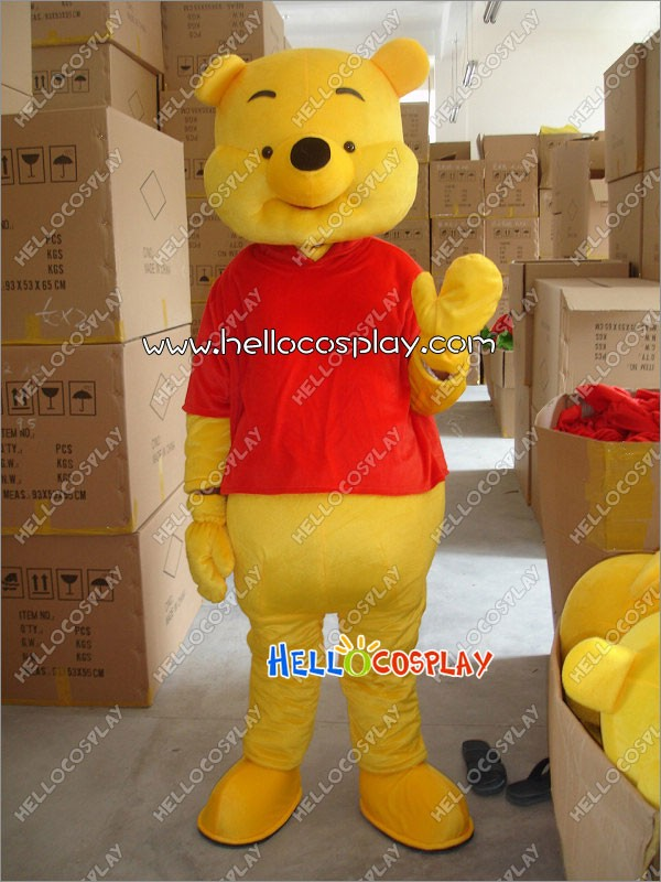 37375b08b767 Winnie-the-Pooh Mascot Costumes Pooh Bear Mascots