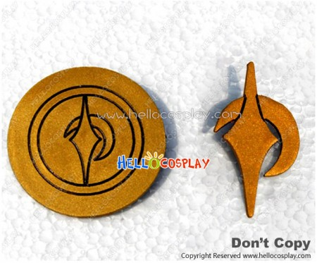 Danganronpa Cosplay Makoto Naegi Accessories Brooches