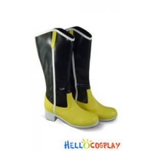 Puella Magi Madoka Magica Cosplay Shoes Tomoe Mami Boots