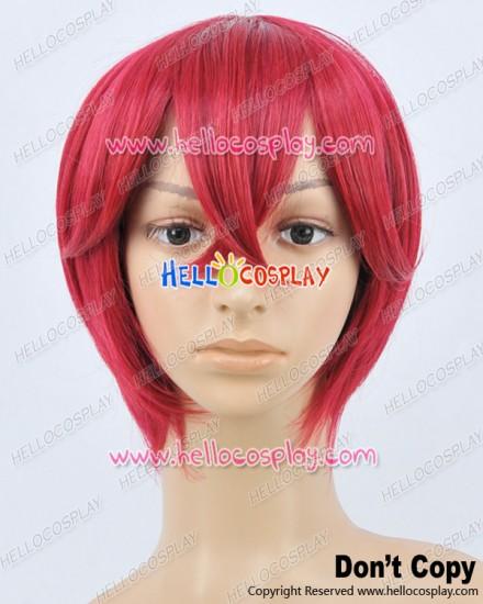 Makai Ouji Devils And Realist Cosplay Isaac Morton Red Wig