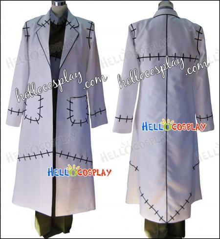 Soul Eater Cosplay Dr. Franken Stein Costume